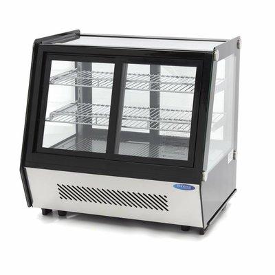 Maxima Luxus Kühlvitrine / Gebäckschaufenster 125L