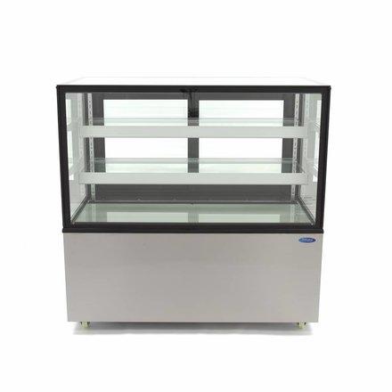 Maxima Kühlvitrine - 300 l - 2 bis 8 °C - mit 4 Rollen - 475 Watt