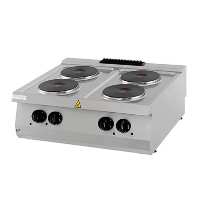 Maxima Heavy Duty Cooker - 4 Burners - Electric