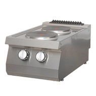 Maxima Heavy Duty Cooker - 2 Burners - Electric