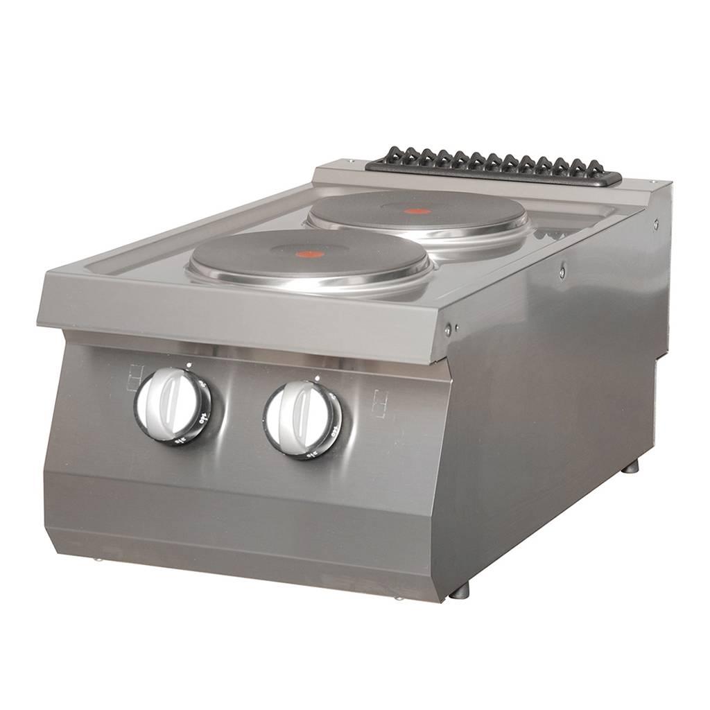 Heavy Duty Kochfeld 2 Brenner Elektrisch Maxima Kitchen Equipment