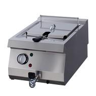 Maxima Heavy Duty elettrica Fryer 1 x 12L con rubinetto