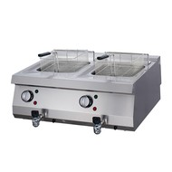 Maxima Heavy Duty Electric Fryer 2 x 12.0L with Faucet