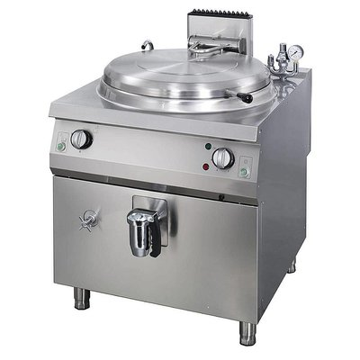 Maxima Heavy Duty Boiling Pan 60L - Electric - Indirect