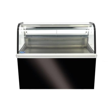 Maxima Kühlvitrine mit Ständer - 255 l - 2 bis 12 °C - 200 Watt