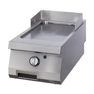 Maxima Heavy Duty Grillplaat Glad Chrome - Enkel - Elektrisch