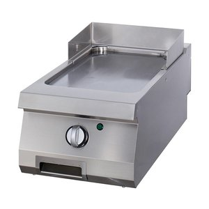 Maxima Heavy Duty Griddle Smooth Chrome - Single - Electric