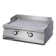 Maxima Heavy Duty Grillplaat Glad Chrome - Dubbel - Elektrisch