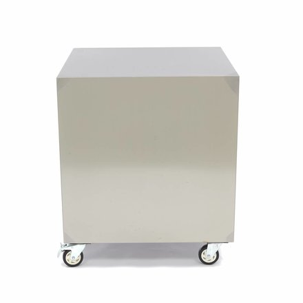 Maxima Stainless Steel Machine Table / Movable Table 60 x 60 cm