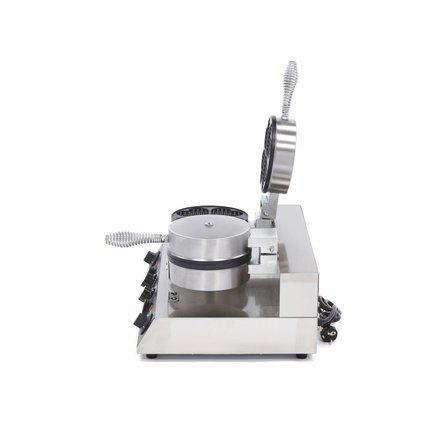 Maxima Gastro Waffeleisen Herz - 2 Stück - 1000 Watt
