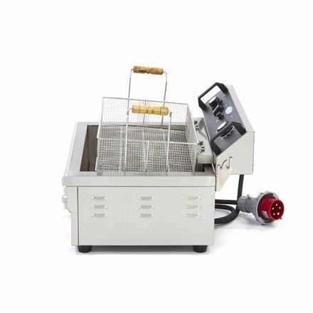 Maxima Backerei - Fisch Fritteuse 1 x 20L Elektrisch mit Hahn