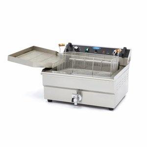 Maxima Bakkerij Friteuse / Horeca Frituurpan 1 x 30L Elektrisch met Tapkraan