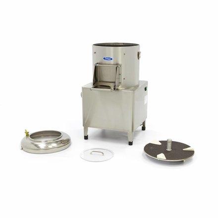 Maxima Schälmaschine Kartoffelschäler - 15 kg - 300 kg/h - 750 Watt