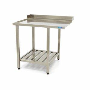 Maxima Table de sortie pour lave-vaisselle Gauche 900 x 750 mm