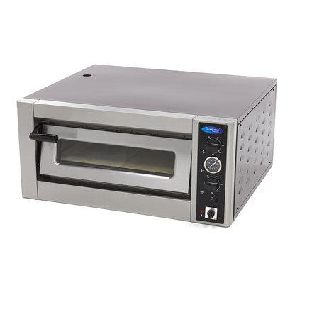 Maxima Gastro Pizzaofen - 4 x 30 cm - 4 Pizzen - 50 bis 500 °C - 5000 Watt - 400 V
