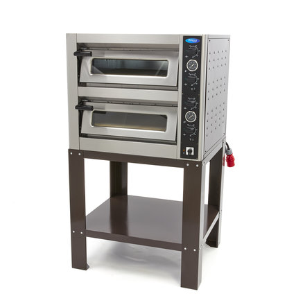 Maxima Frame Deluxe Pizza Oven 4 + 4 x 25 cm Double