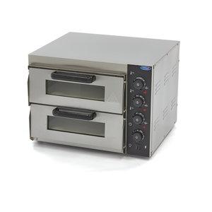 Maxima Kompakt Pizza Ofen 2 x 40 cm 230V