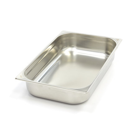 Maxima Stainless Steel Gastronorm Container 1/1GN | 100mm | 530x325mm