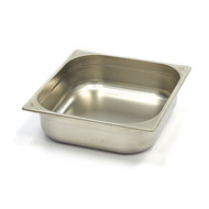 Maxima Stainless Steel Gastronorm Container 2/3GN | 100mm | 325x354mm