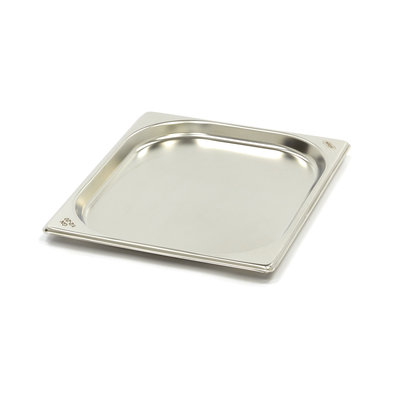 Maxima Stainless Steel Gastronorm Container 1/2GN   20mm   325x265mm