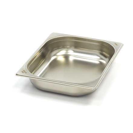 Maxima Stainless Steel Gastronorm Container 1/2GN   65mm   325x265mm