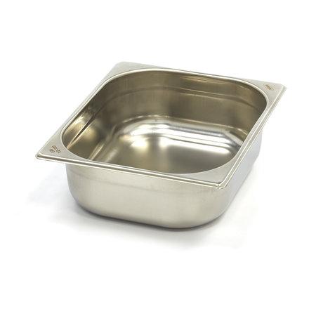 Maxima Gastronormbehälter aus Edelstahl 1/2GN   100mm   325x265mm