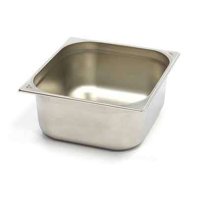 Maxima Stainless Steel Gastronorm Container 1/2GN | 150mm | 325x265mm