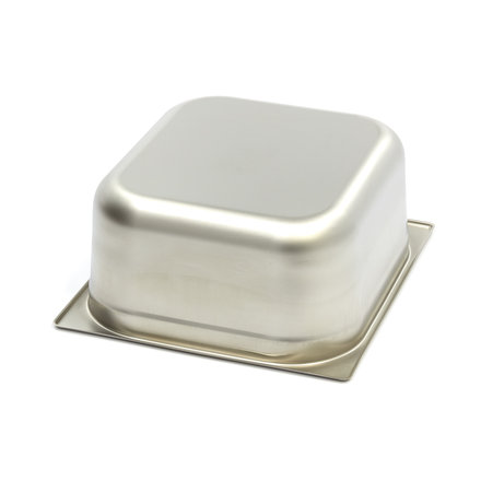 Maxima Stainless Steel Gastronorm Container 1/2GN   150mm   325x265mm