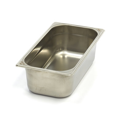 Maxima Acero inoxidable Gastronorm envases 1 / 3GN | 100 mm | 325x176mm
