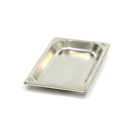 Maxima Stainless Steel Gastronorm Container 1/4GN   20mm   265x162mm