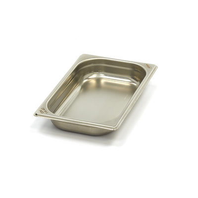 Maxima Stainless Steel Gastronorm Container 1/4GN | 40mm | 265x162mm