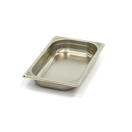 Maxima Stainless Steel Gastronorm Container 1/4GN   40mm   265x162mm
