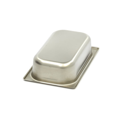 Maxima Stainless Steel Gastronorm Container 1/4GN | 65mm | 265x162mm