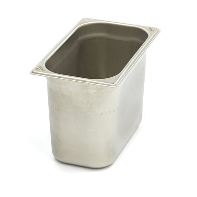 Maxima Stainless Steel Gastronorm Container 1/4GN | 200mm | 265x162mm
