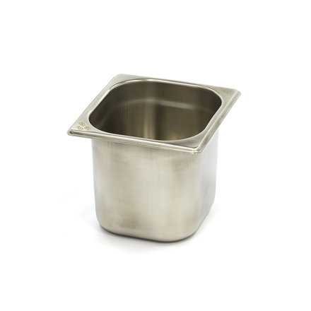 Maxima Stainless Steel Gastronorm Container 1/6GN   150mm   176x162mm