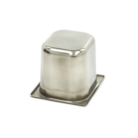 Maxima Gastronormbehälter aus Edelstahl 1/6GN   150mm   176x162mm
