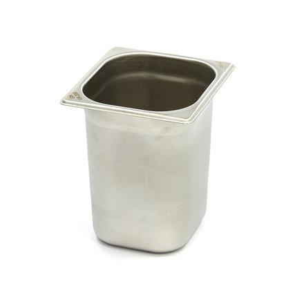 Maxima Gastronormbehälter aus Edelstahl 1/6GN | 200mm | 176x162mm