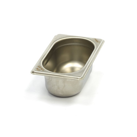 Maxima Stainless Steel Gastronorm Container 1/9GN   65mm   176x108mm