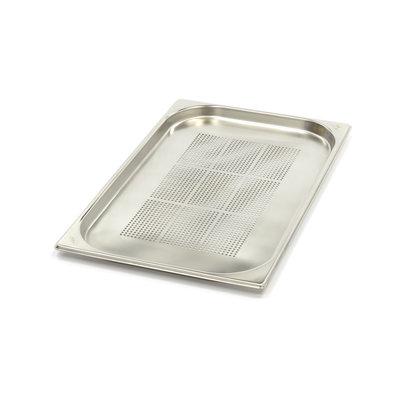 Maxima GN Behälter Gelocht aus Edelstahl 1/1GN | 20mm | 530x325mm