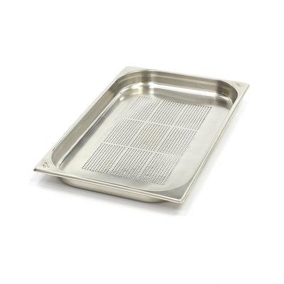 Maxima GN Behälter Gelocht aus Edelstahl 1/1GN | 40mm | 530x325mm
