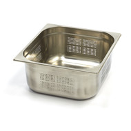 Maxima Stainless Steel Perforated GN Container 2/3GN | 150mm | 325x354mm