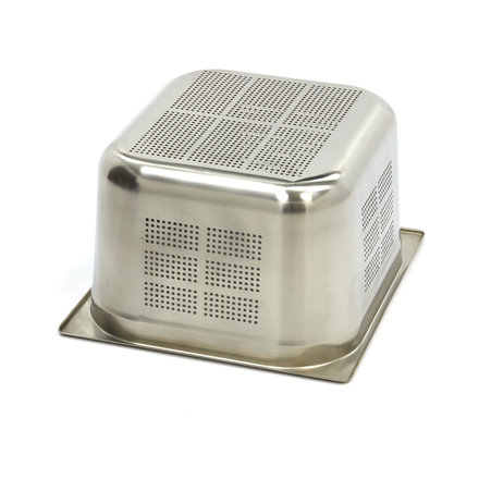 Maxima Stainless Steel Perforated GN Container 2/3GN | 200mm | 325x354mm