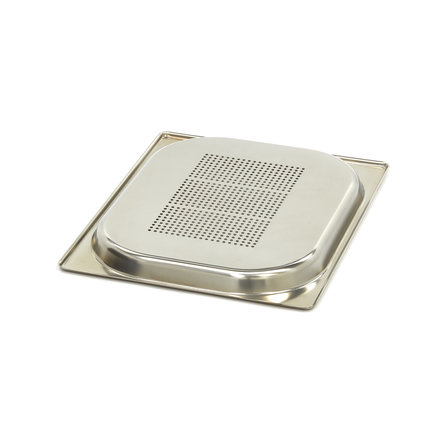 Maxima GN-Behälter Gelocht - 1/2 GN - Edelstahl - 325 x 265 mm - 20 mm tief