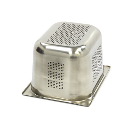Maxima GN Behälter Gelocht aus Edelstahl 1/2GN   200mm   325x265mm
