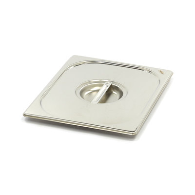 Maxima Stainless Steel Gastronorm Lid 1/2GN