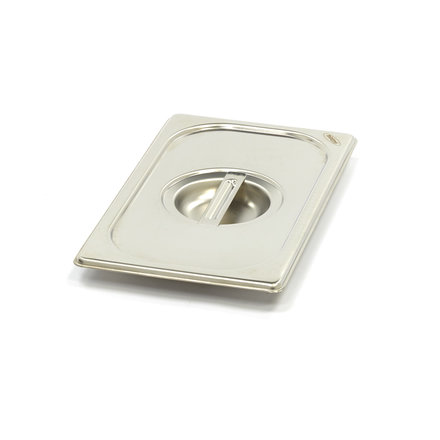 Maxima Stainless Steel Gastronorm Lid 1/4GN