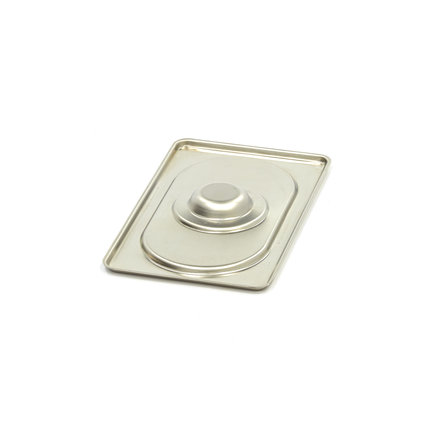 Maxima Stainless Steel Gastronorm Lid 1/9GN