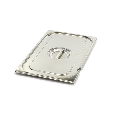 Maxima Stainless Steel Gastronorm Lid 1/1GN | With Recess