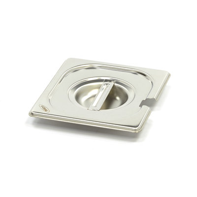Maxima Stainless Steel Gastronorm Lid 1/6GN | With Recess