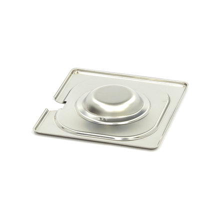 Maxima Stainless Steel Gastronorm Lid 1/6GN   With Recess